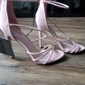 Blush colored heels